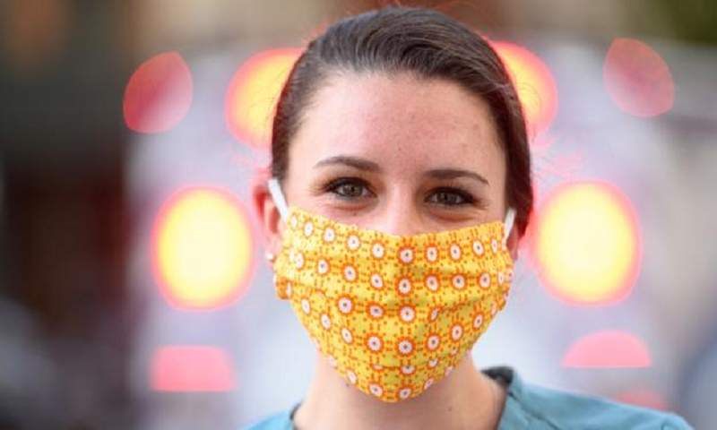 Face masks can limit coronavirus from spreading within households