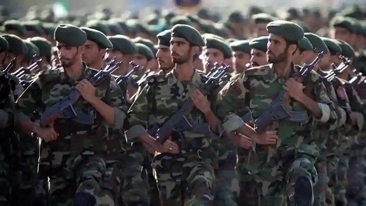 Three Iran guards killed in clash near Iraq border