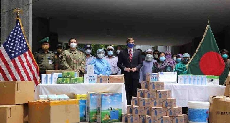 COVID-19: US provides more essential medical equipment to Bangladesh