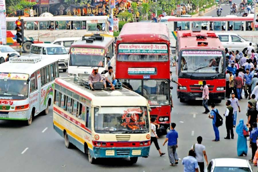 BRTA recommends increasing bus fares by 80 percent