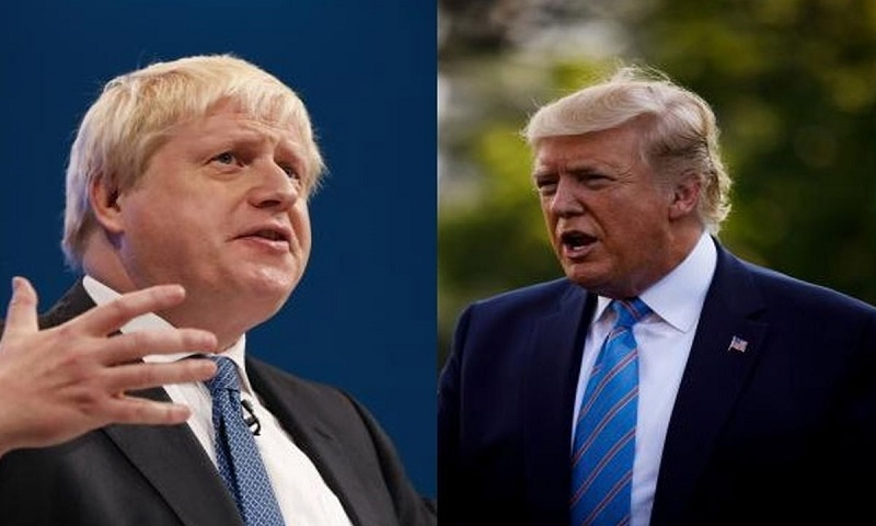 Donald Trump, UK PM Johnson discuss search for Coronavirus vaccine over phone