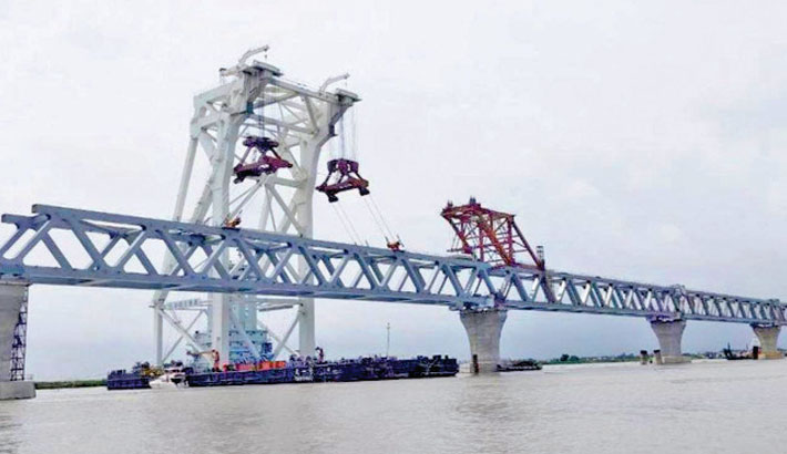 4.5km visible as 30th span installed