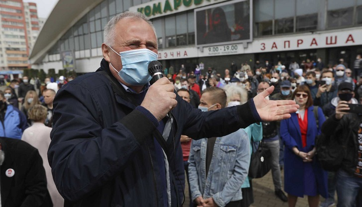 Belarus detains dozens of opposition activists