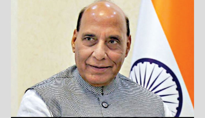 India's 'pride' will be defended: Rajnath