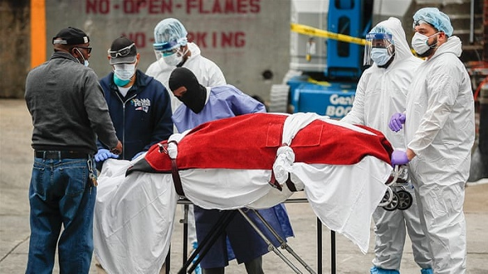 US records 598 coronavirus deaths in 24 hours: Johns Hopkins
