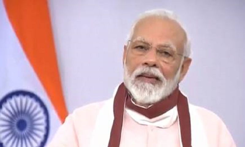 Indian PM Modi lists 5 things to build a self-reliant India