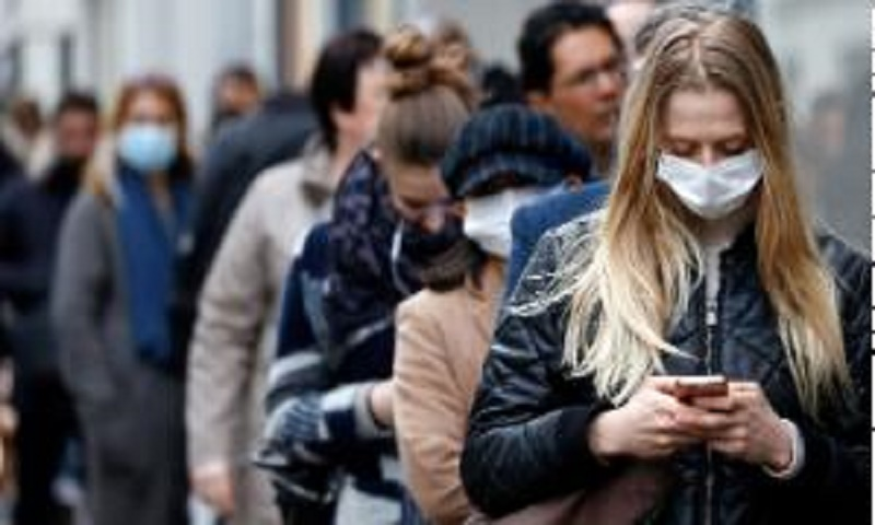 Social distancing and masks reduce risk of getting Covid-19