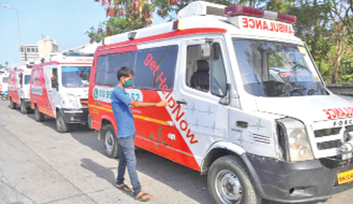 Mumbai ambulance start-up joins corona battle