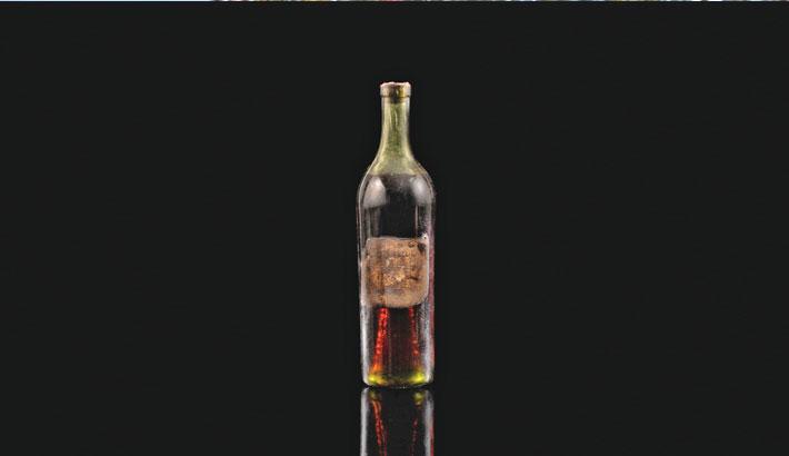 One of oldest Cognac bottles sold for £118,580