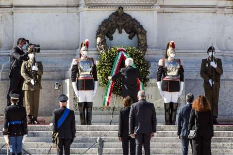 Italy marks National Day with muted celebrations due to virus
