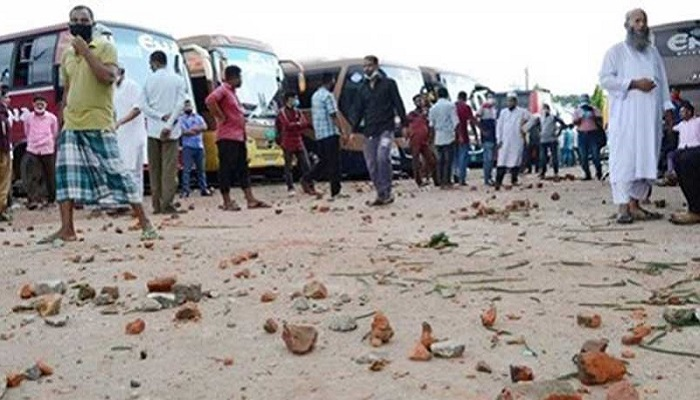 Transport workers' clash in Sylhet, 50 injured