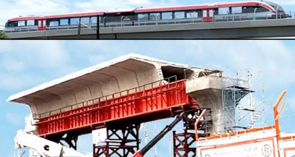 72.12 pc work of metro rail's 1st phase completed