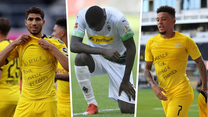 Bundesliga takes no action for joining Floyd protests