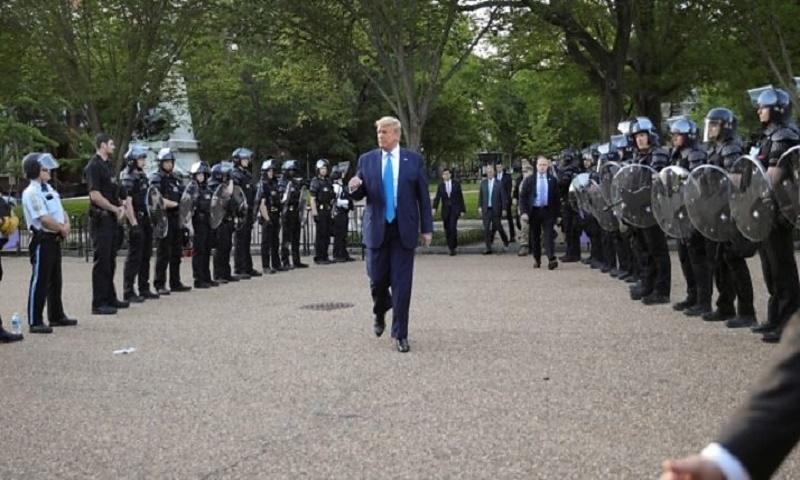 George Floyd death: Archbishop attacks Trump as US protests continue