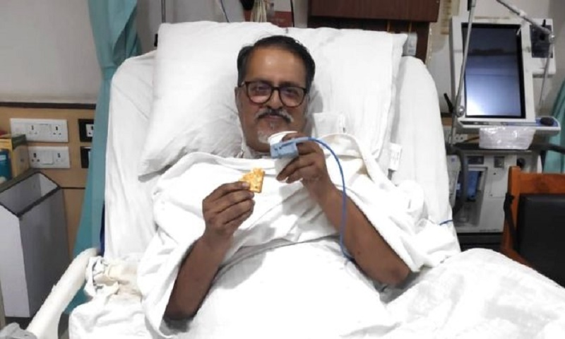 Covid-19: Indian man who survived 36 days on a ventilator