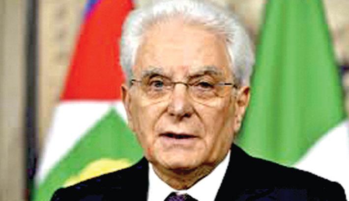 Italian president warns corona crisis 'is not over'