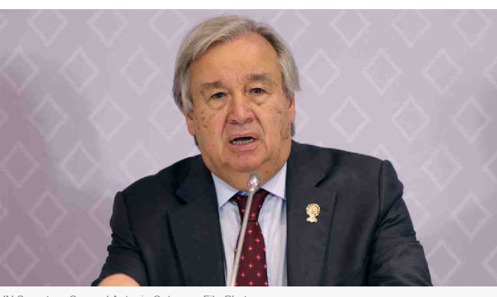 Grateful to countries that opened borders, hearts to refugees, migrants: UN chief
