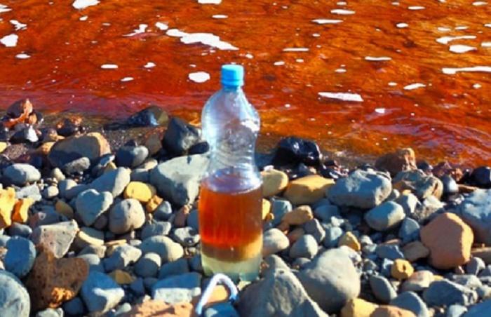 Massive thermal plant fuel leak pollutes Siberian river