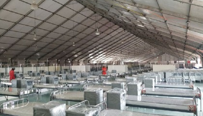 ICCB corona hospital becomes operational