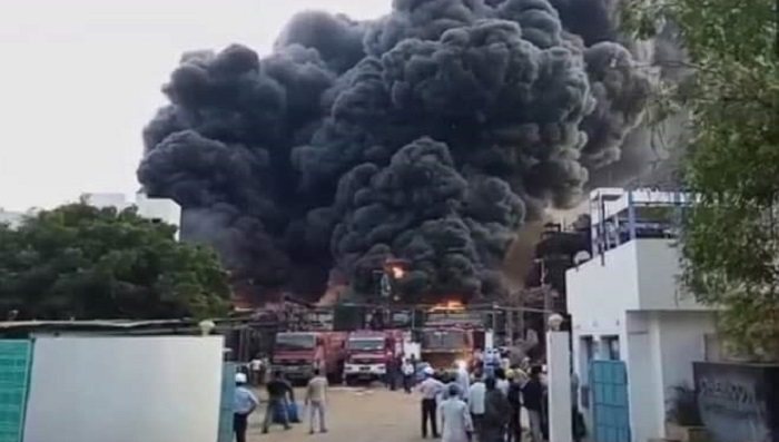 Eight killed in Indian pesticide factory blast