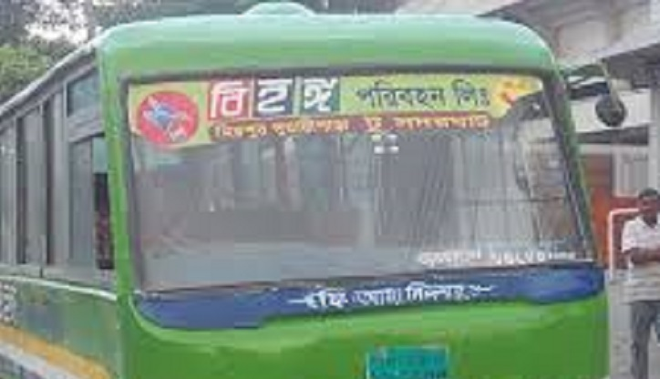 Two killed as bus hit them in Bangla Motor