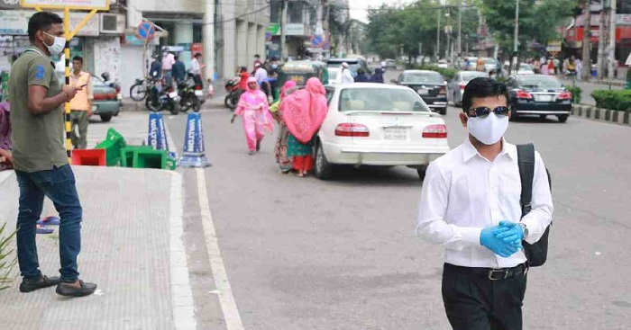 Mobile court fines Tk 36,100 to 39 people for not using mask in Bagerhat