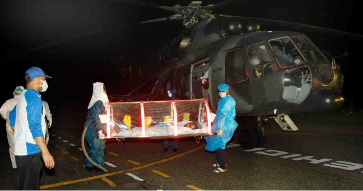 Covid-19 positive physician airlifted to Dhaka from Jashore