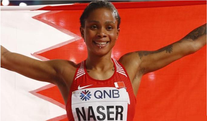400m world champion Naser gets provisional doping ban