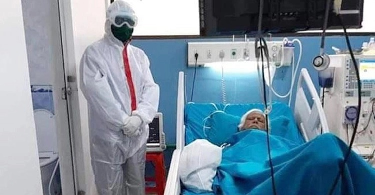 Dr Zafrullah's condition slightly improves, received plasma therapy again