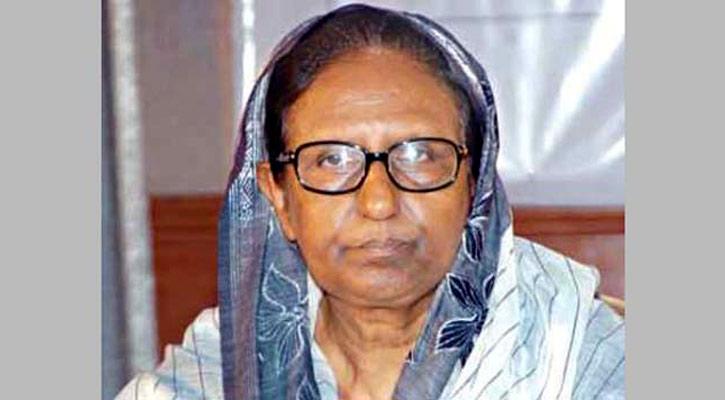 Former Home Minister Sahara Khatun hospitalised
