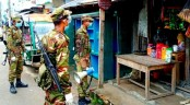 Army starts patrolling in East Razabazar from midnight