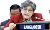 Bangladesh calls for sharing responsibility in humanitarian situations