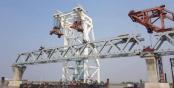 31st span of Padma Bridge installed making over 4.5km visible