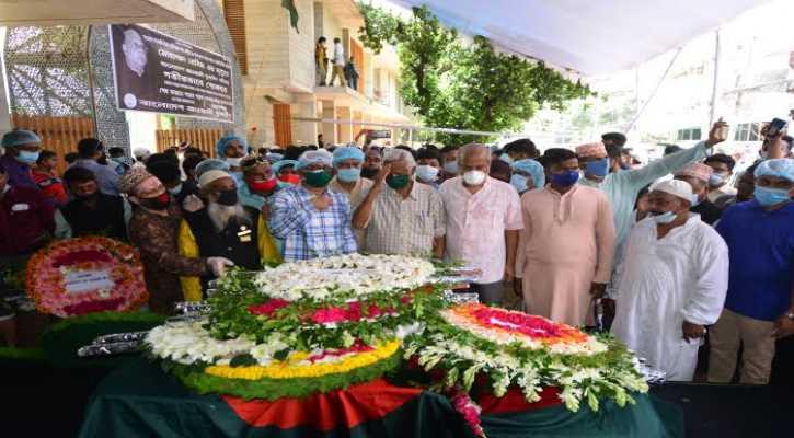 Dr Zafrullah pays tribute to Nasim at Banani