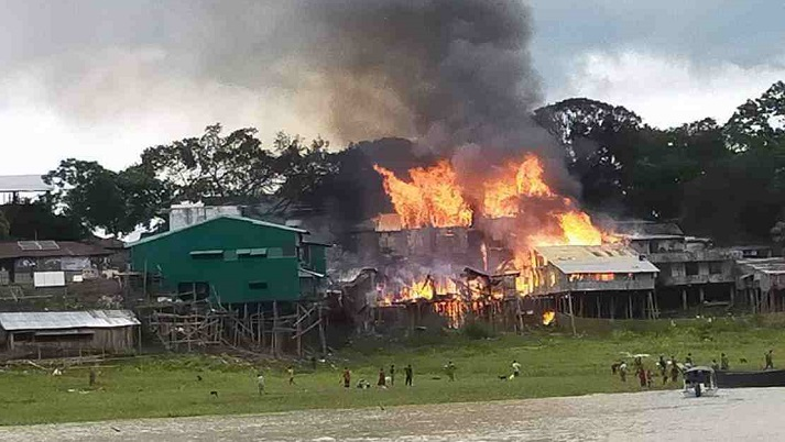 Forest office, other establishments gutted in Rangamati fire