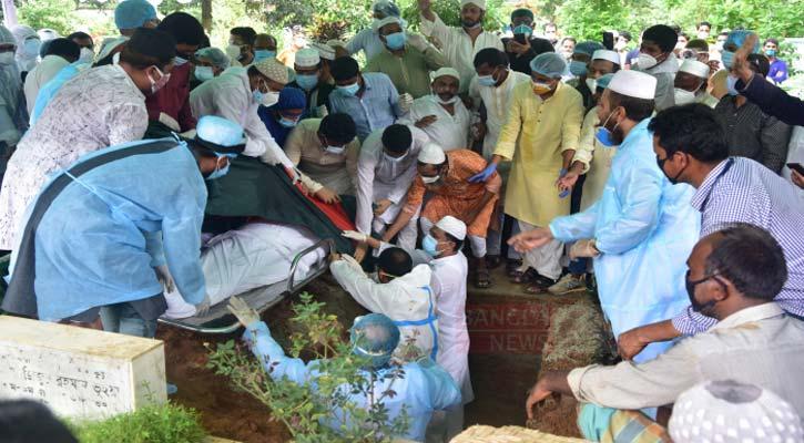 Mohammed Nasim laid to eternal rest at Banani graveyard