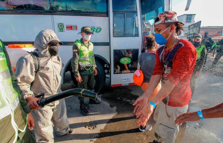 Coronavirus cases surpass 50,000 in Colombia