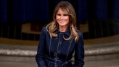 Melania Trump announces youth art project on women's suffrage