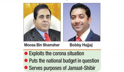 Moosa's son Bobby conspires against govt