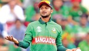 Good fortune might  land Shakib in T20 WC