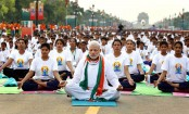 India's Modi promotes yoga against coronavirus