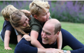 Prince William and kids grin with delight in heartwarming Father's Day pictures