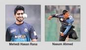 Nasum, Rana in CPL draft
