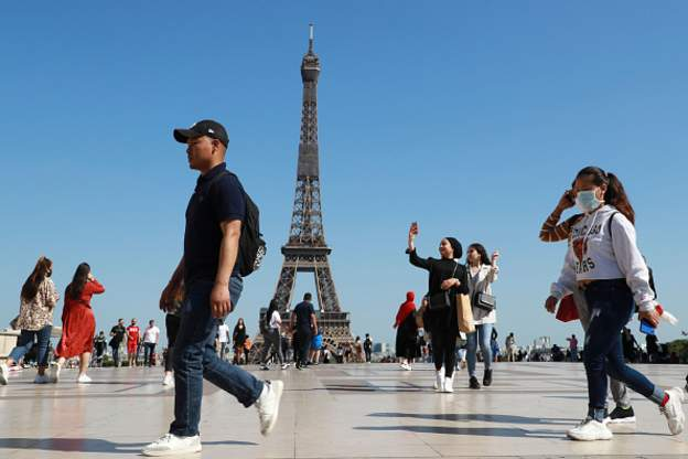 France's Eiffel Tower reopens after 3 months lockdown