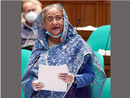 PM expresses govt. determination in implementing budget