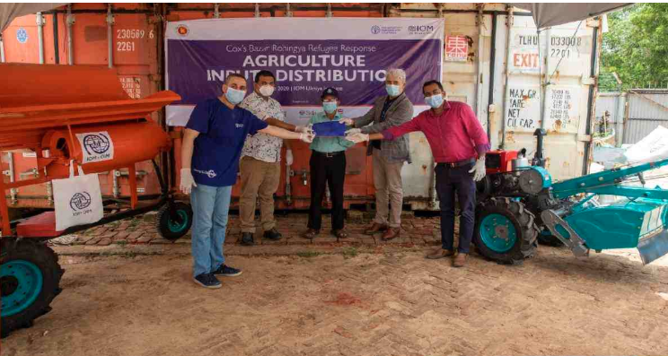 UN bodies distribute agro-machinery, seed to support Cox's Bazar farmers