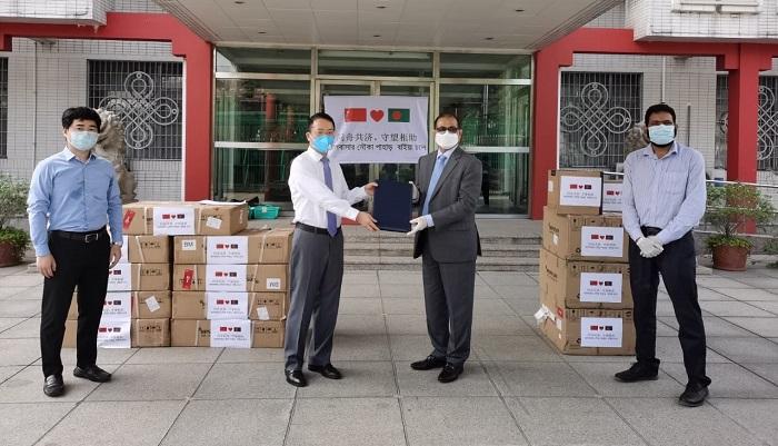 China provides more life saving medical equipment to Bangladesh