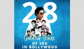 SRK thanks fans for 'allowing' him to entertain for 28 yrs