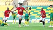 Maguire sends Man Utd into FA Cup semi-finals