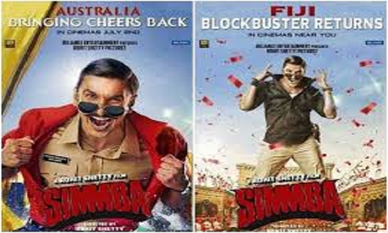 Ranveer Singh's Simmba to re-release in Australia and Fiji